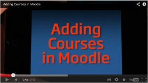 Adding courses